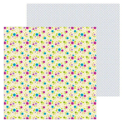 Doodlebug Design - Hello Collection - 12 x 12 Double Sided Paper - Petite and Pretty