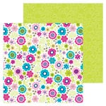 Doodlebug Design - Hello Collection - 12 x 12 Double Sided Paper - Lovely