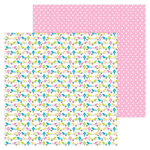 Doodlebug Design - Hello Collection - 12 x 12 Double Sided Paper - Sitting Pretty