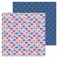 Doodlebug Design - Hello Collection - 12 x 12 Double Sided Paper - Strike a Pose
