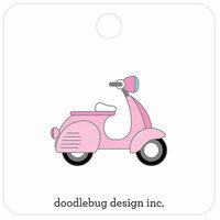 Doodlebug Design - Hello Collection - Collectible Pins - Beep Beep