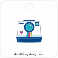 Doodlebug Design - Hello Collection - Collectible Pins - Smile