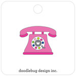 Doodlebug Design - Hello Collection - Collectible Pins - Hello