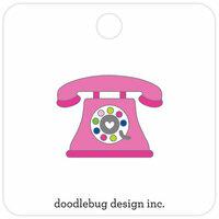 Doodlebug Design - Hello Collection - Collectible Pins - Hello