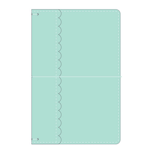 Doodlebug Design - Daily Doodles Collection - Travel Planner - Mint - Undated