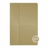 Doodlebug Design - Daily Doodles Collection - Travel Planner - Gold Metallic - Undated