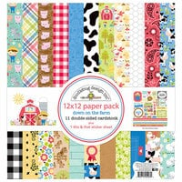 Doodlebug Design - Down on the Farm Collection - 12 x 12 Paper Pack