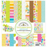 Doodlebug Design - Sweet Summer Collection - 12 x 12 Paper Pack