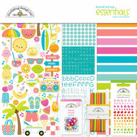 Doodlebug Design - Sweet Summer Collection - Essentials Kit