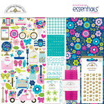 Doodlebug Design - Hello Collection - Essentials Kit with Foil Accents