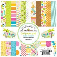 Doodlebug Design - Sweet Summer Collection - 6 x 6 Paper Pad