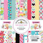 Doodlebug Design - So Punny Collection - 6 x 6 Paper Pad
