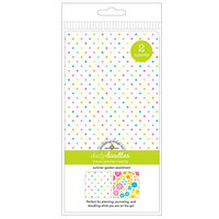 Doodlebug Design - Daily Doodles Collection - Travel Planner - Inserts - Summer Garden - 2 Pack