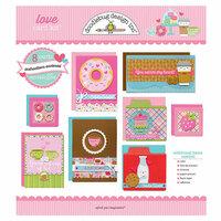 Doodlebug Design - Love Collection - Card Kit