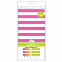 Doodlebug Design - Daily Doodles Collection - Travel Planner - Inserts - Summertime Stripes - 4 Pack