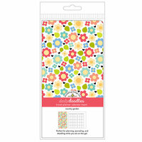 Doodlebug Design - Daily Doodles Collection - Travel Planner - Inserts - Calendar - Country Garden - Undated