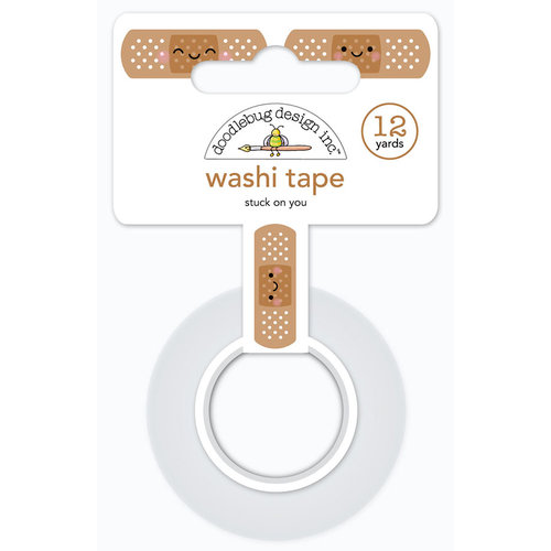 Doodlebug Design - So Much Pun Collection - Washi Tape - Stuck on You
