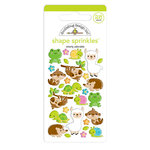 Doodlebug Design - So Much Pun Collection - Sprinkles - Self Adhesive Enamel Shapes - Otterly Adorable