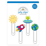 Doodlebug Design - So Much Pun Collection - Jelly Clips - Out of this World