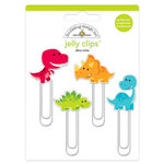 Doodlebug Design - So Much Pun Collection - Jelly Clips - Dino-mite
