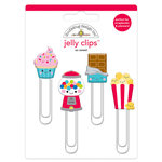 Doodlebug Design - So Much Pun Collection - Jelly Clips - So Sweet