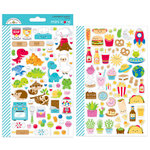 Doodlebug Design - So Much Pun Collection - Cardstock Stickers - Mini Icons