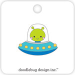 Doodlebug Design - So Much Pun Collection - Collectible Pins - Alien