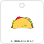 Doodlebug Design - So Much Pun Collection - Collectible Pins - Taco