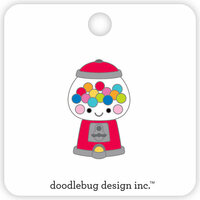 Doodlebug Design - So Much Pun Collection - Collectible Pins - Bubblegum Machine