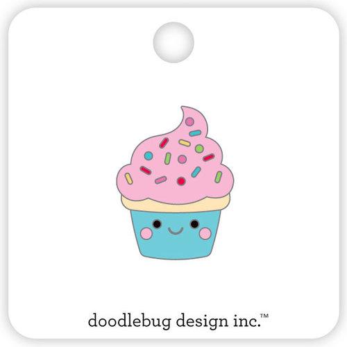 Doodlebug Design - So Much Pun Collection - Collectible Pins - Cupcake
