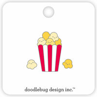 Doodlebug Design - So Much Pun Collection - Collectible Pins - Popcorn