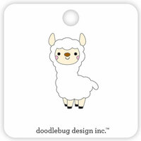 Doodlebug Design - So Much Pun Collection - Collectible Pins - Llama