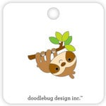 Doodlebug Design - So Much Pun Collection - Collectible Pins - Sloth