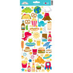 Doodlebug Design - So Much Pun Collection - Cardstock Stickers - Icons