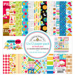 Doodlebug Design - So Much Pun Collection - 12 x 12 Paper Pack