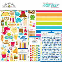 Doodlebug Design - So Much Pun Collection - Essentials Kit