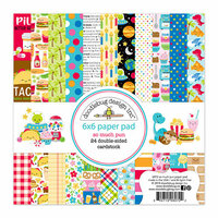 Doodlebug Design - So Much Pun Collection - 6 x 6 Paper Pad