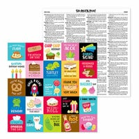Doodlebug Design - So Much Pun Collection - 12 x 12 Double Sided Paper - So Much Pun