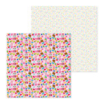 Doodlebug Design - So Much Pun Collection - 12 x 12 Double Sided Paper - Sweet Stuff