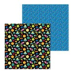 Doodlebug Design - So Much Pun Collection - 12 x 12 Double Sided Paper - Far Out