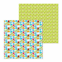 Doodlebug Design - So Much Pun Collection - 12 x 12 Double Sided Paper - T-riffic