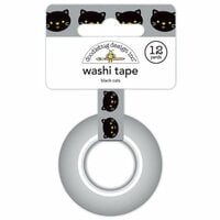 Doodlebug Design - Pumpkin Party Collection - Halloween - Washi Tape - Black Cats