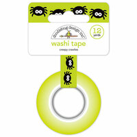 Doodlebug Design - Pumpkin Party Collection - Halloween - Washi Tape - Creepy Crawlies