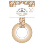 Doodlebug Design - Christmas Town Collection - Washi Tape - White Christmas