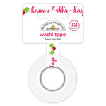 Doodlebug Design - Christmas Town Collection - Washi Tape - Happy Holly-days
