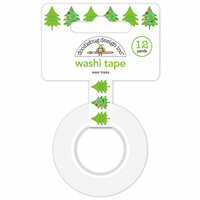 Doodlebug Design - Christmas Town Collection - Washi Tape - Wee Trees