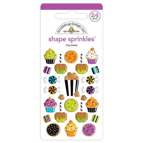 Doodlebug Design - Pumpkin Party Collection - Halloween - Sprinkles - Self Adhesive Enamel Shapes - Tiny Treats