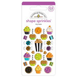 Doodlebug Design - Pumpkin Party Collection - Halloween - Sprinkles - Self Adhesive Enamel Shapes - Tiny Treats