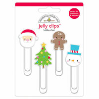 Doodlebug Design - Christmas Town Collection - Jelly Clips - Holiday Cheer