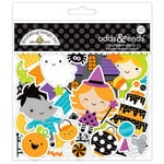 Doodlebug Design - Pumpkin Party Collection - Halloween - Odds and Ends - Die Cut Cardstock Pieces